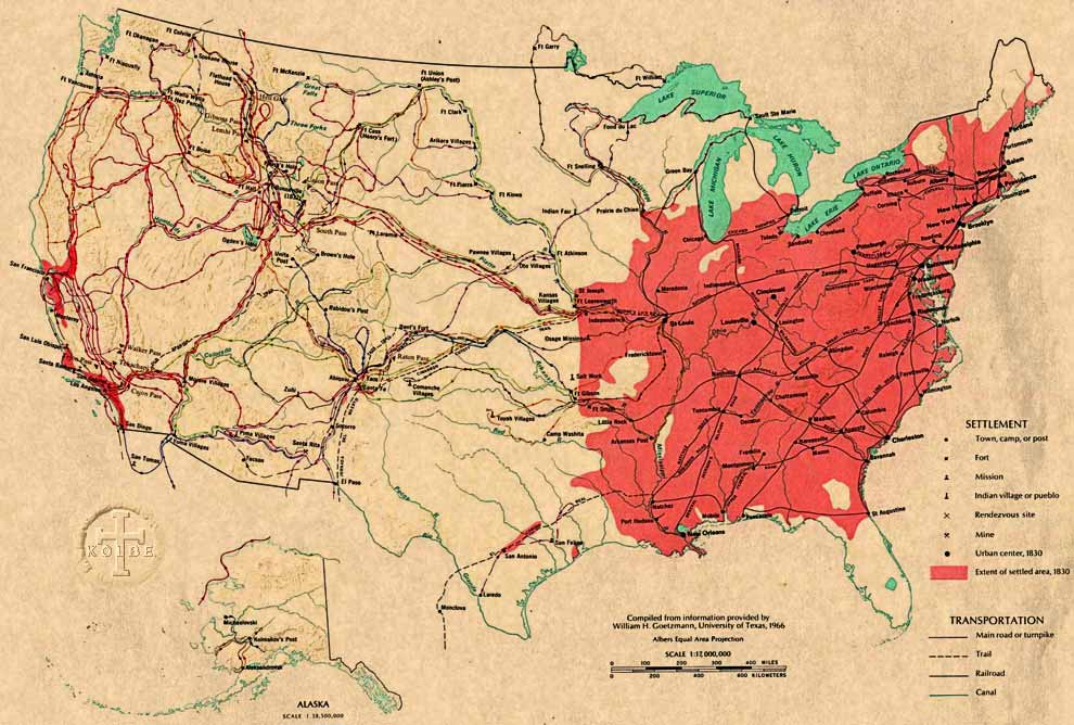 Map Of America 1820.The Kolbe Foundation Historical Map Collection North America